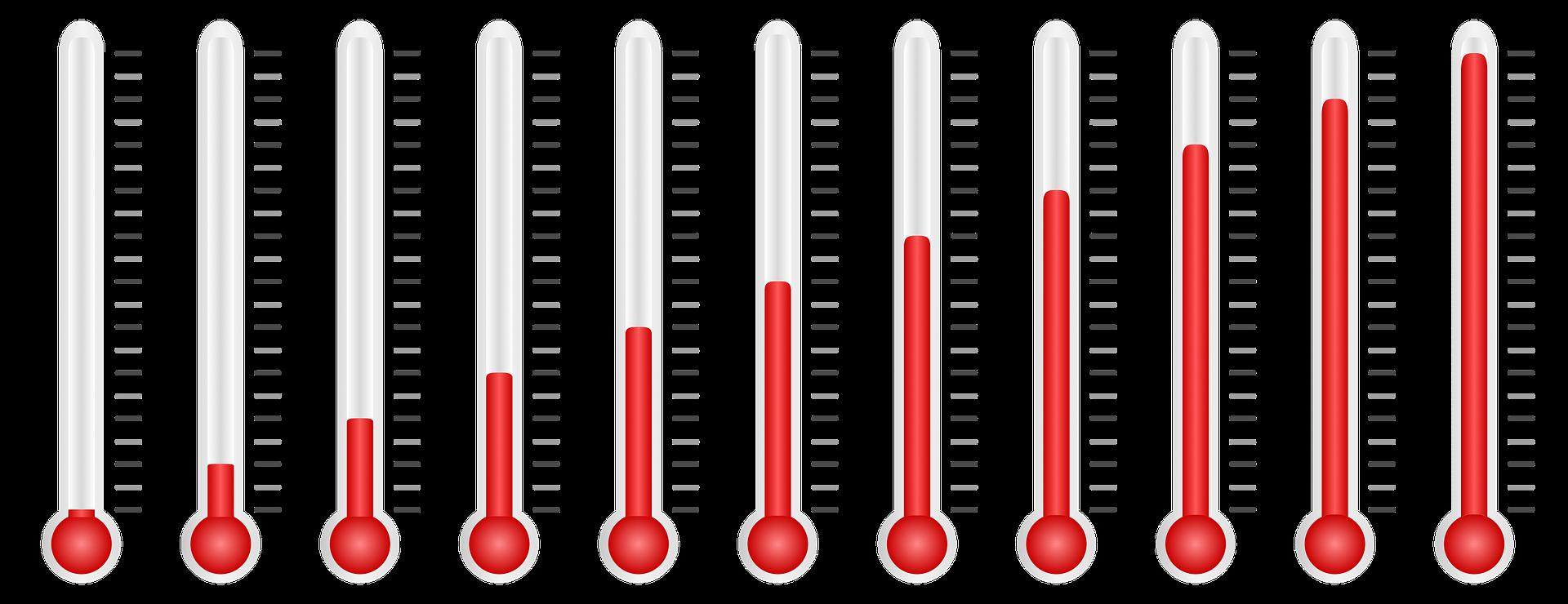 Déterminer la température de l'eau sans thermomètre