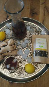Le thé au gingembre par Terrafrika Food