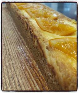 CheeseCake au fromage Blanc et thé noir citron, par L'Ôberge de Bounavô